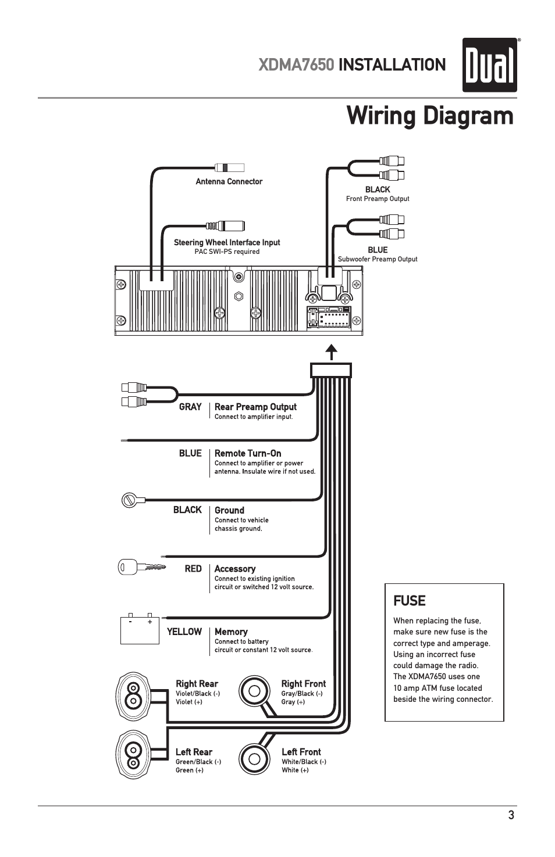 Groß Dual Xd7500 Lautsprecher Schaltplan Galerie - Elektrische ...