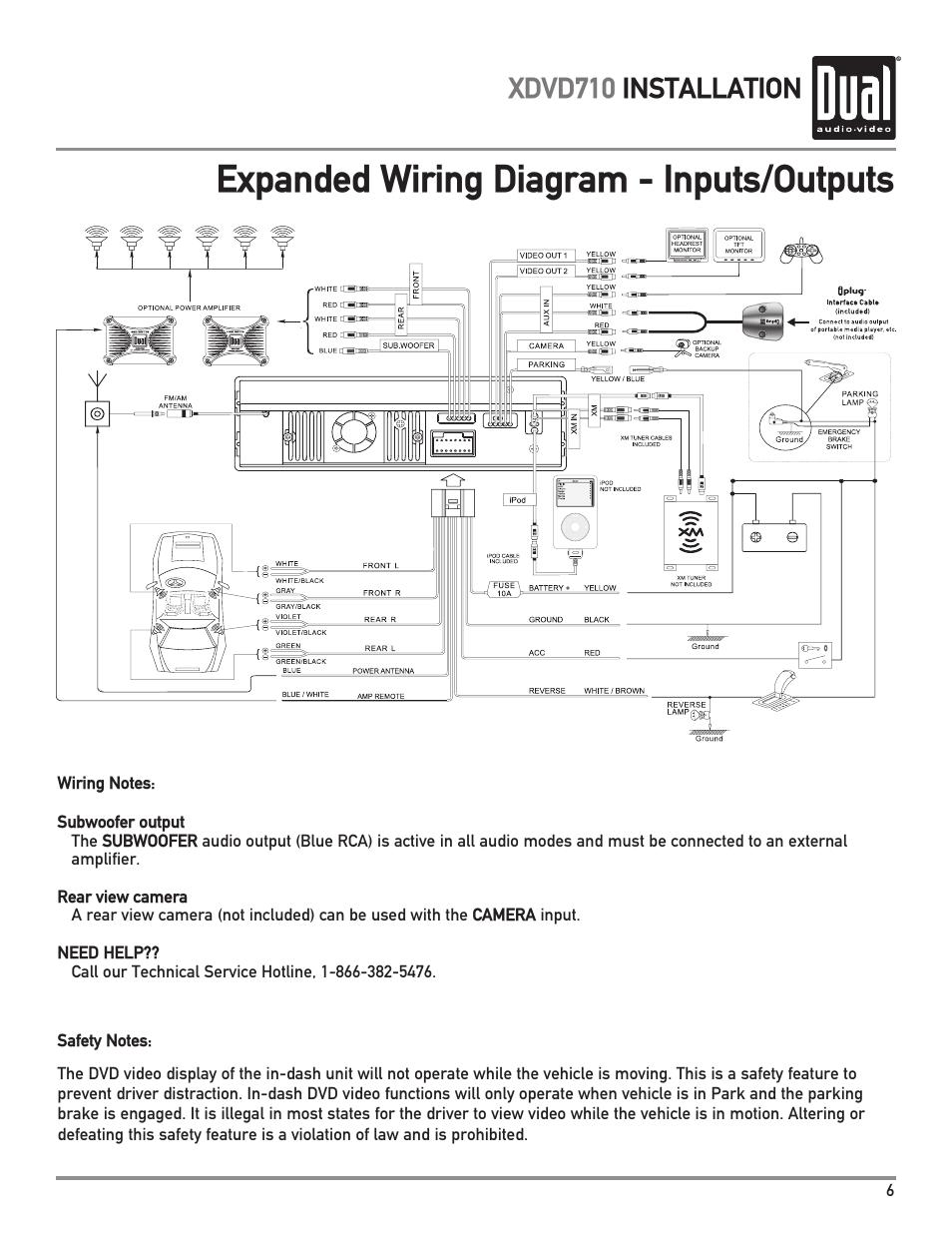 dual xdvd710 page7?resize\\\\\\\=665%2C861 sony xav w1 wiring harness diagram sony car stereo wiring, sony sony xav-w1 wiring harness at edmiracle.co
