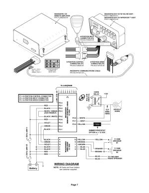 Whelen 295hfsa5 Wiring Diagram | Online Wiring Diagram