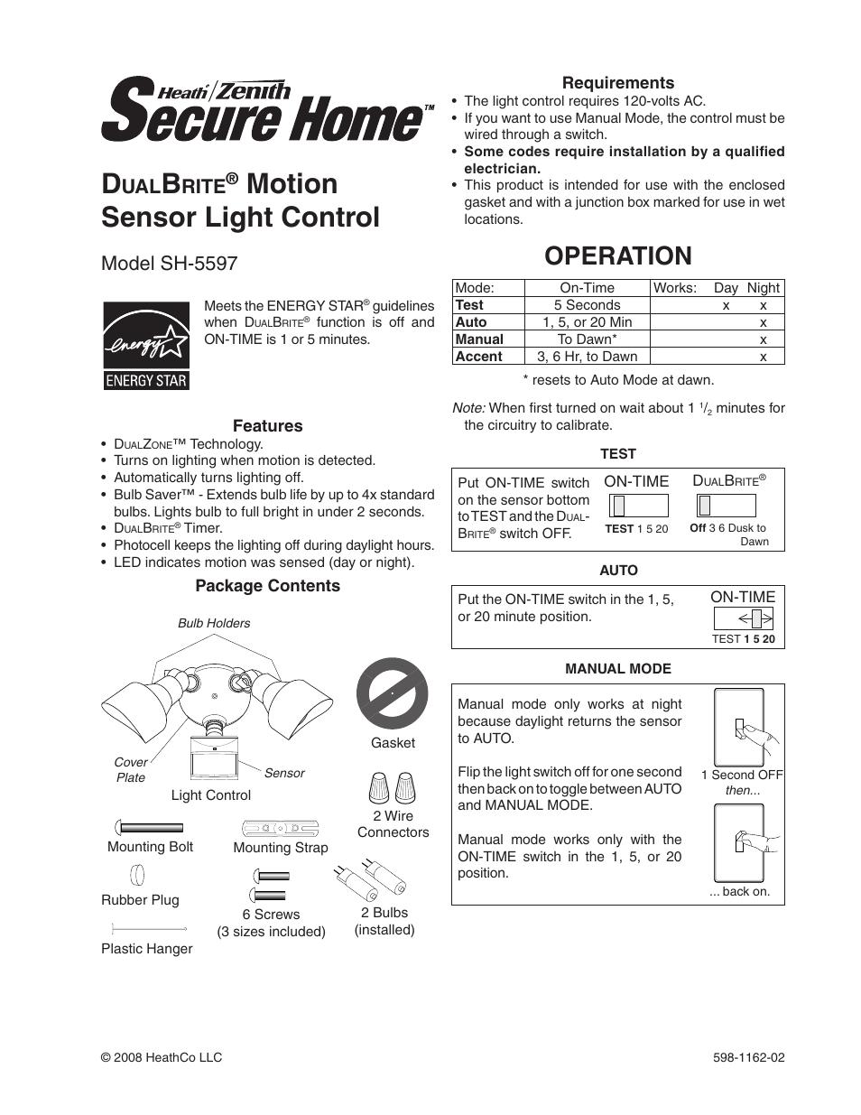Motion Sensor Light Bulbs