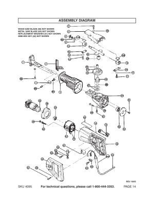 Assembly diagram   Harbor Freight Tools Chicago Electric