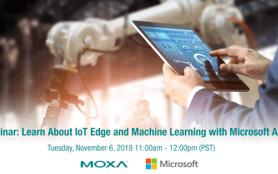 ON DEMAND Webinar : Learn About IoT Edge and Machine Learning with Microsoft Azure