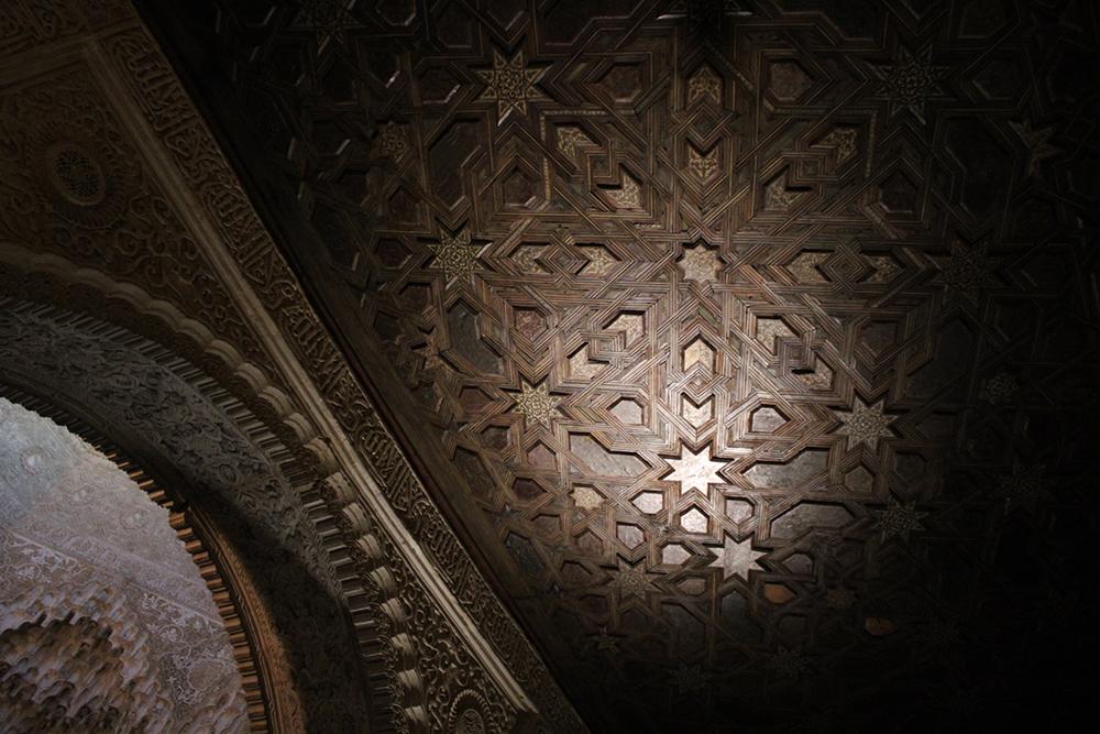 Alhambra woodwork. Manu Barba Architecture and Travel ©Cristina Espinosa