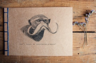 Manuche Postcards from - Don't touch my moustache