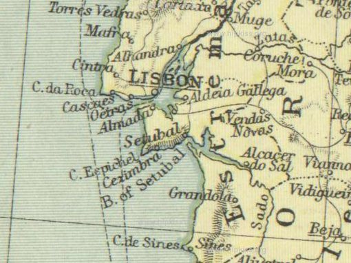 Lisboa Map | Manuche