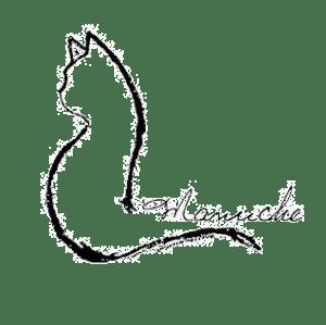Manuche Logo, featuring a lovely cat