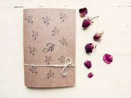 Personalized botanic notebook