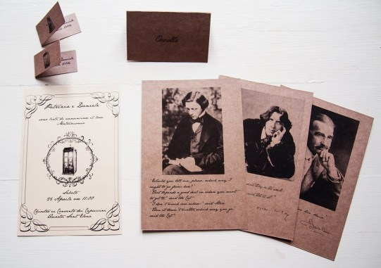 Invitations and wedding stationery for Patrizia e Daniele bridal