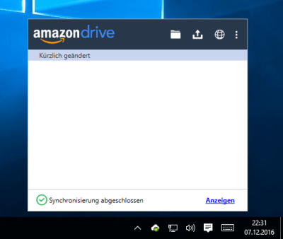 screenshot_amazon_cloud_drive_neue-system-tray-anzeige