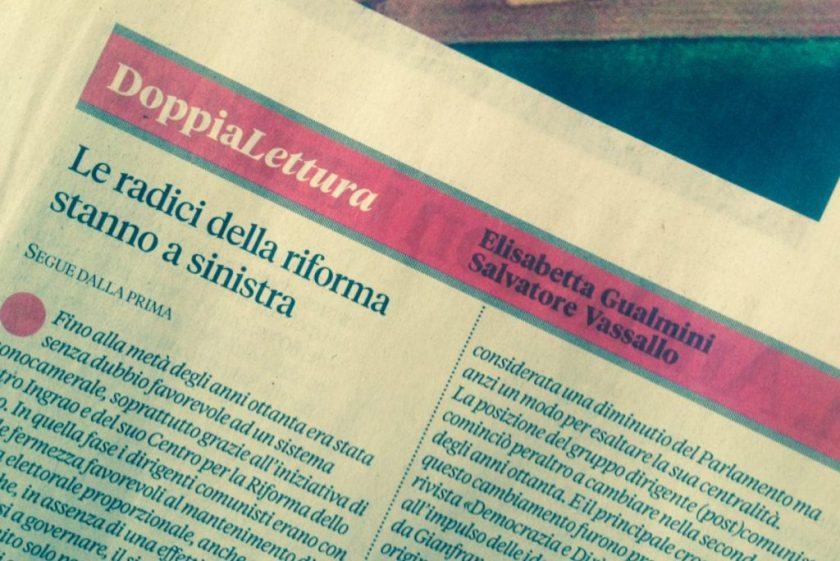 articolo Vassallo Gualmini