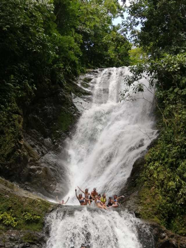 Buggy Jungle Waterfall Vacation