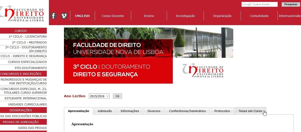 Tese de Doutoramento – «Protecção de Dados, Ciberilicitude e Cibersegurança»