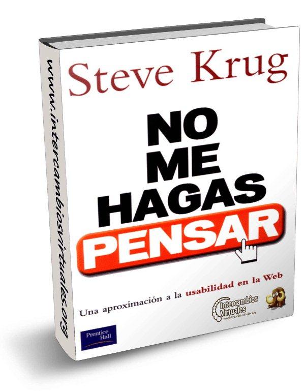 No me hagas pensar, de Steve Krug
