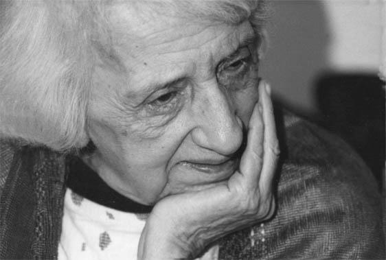 María Zambrano. Imagen de la Fundación María Zambrano