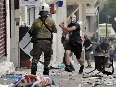 Disturbios en Grecia por el plan de ajuste