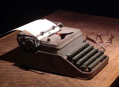 Máquina de escribir (imagen tomada de Cuba Matinal)