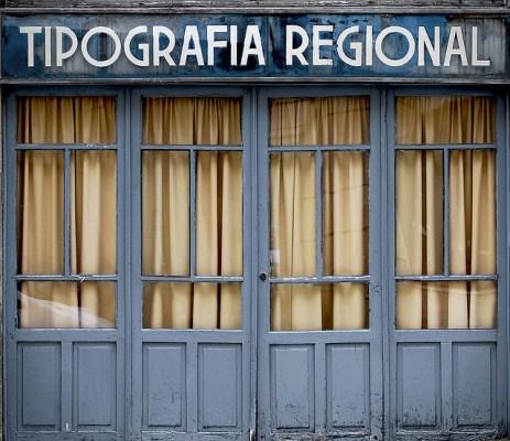 Tipografía Regional por Jorge Lens, en Flickr