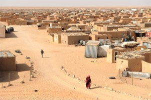 Campamento de refugiados saharahuis