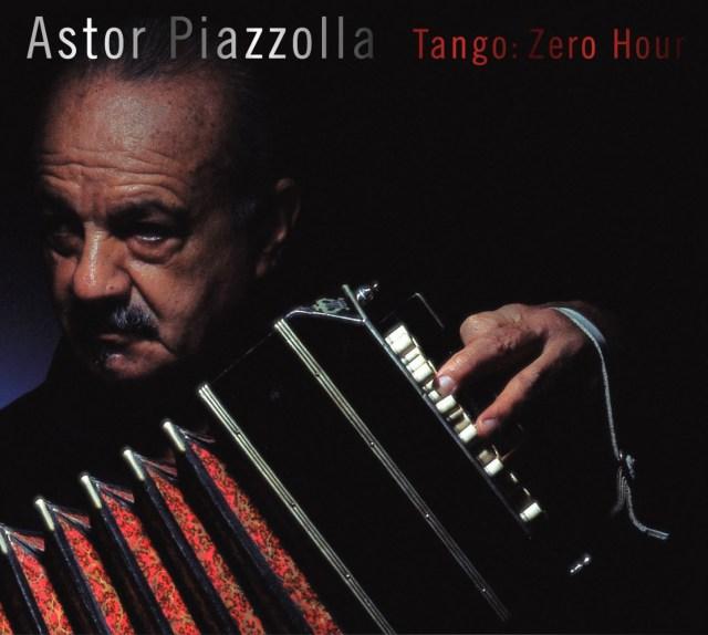 Portada del disco 'Tango: Hora Cero', de Astor Piazzolla