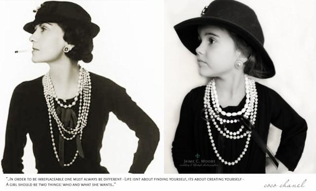 Coco Chanel y Emma, foto de Jaime C. Moore