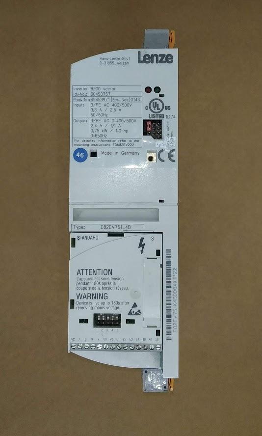 E82EV751_4C 400V 0,75KW