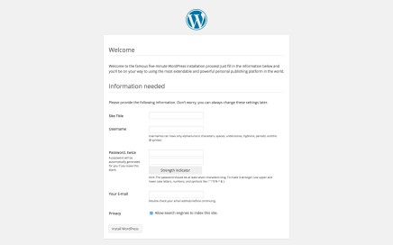 Instalar WordPress en una Raspberry Pi
