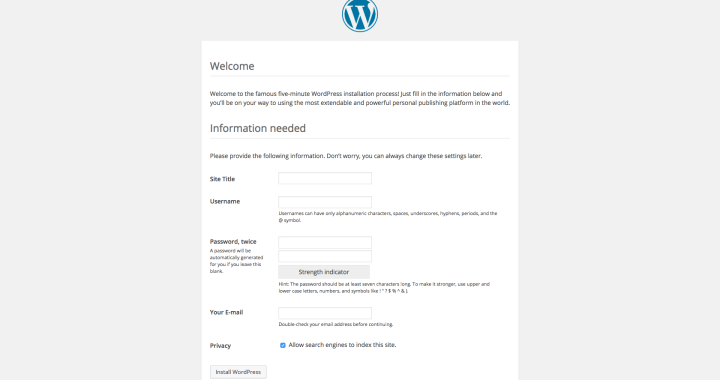 Instalar WordPress en una Raspberry Pi