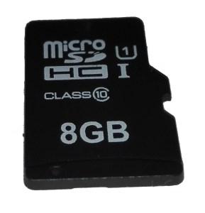 Tarjeta microSD 8GB clase 10