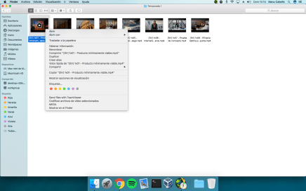 Cambiar la aplicación por defecto de un archivo en OSx