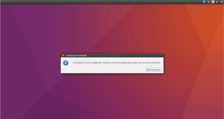 Instalar Ubuntu junto a Windows con arranque dual