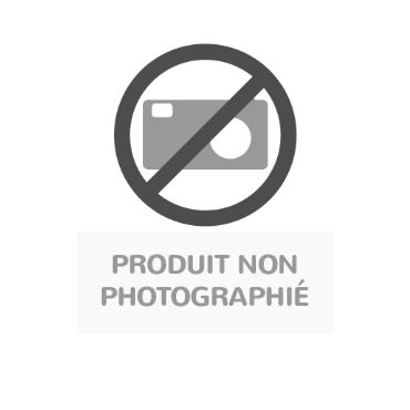 table carree plateau melamine pivotant axe