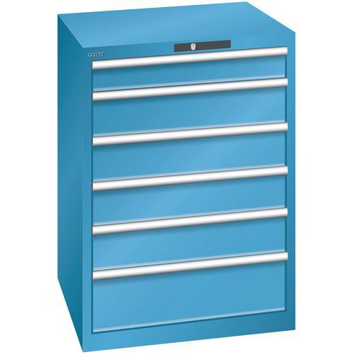 armoire d atelier a tiroirs lista largeur 71 cm manutan fr