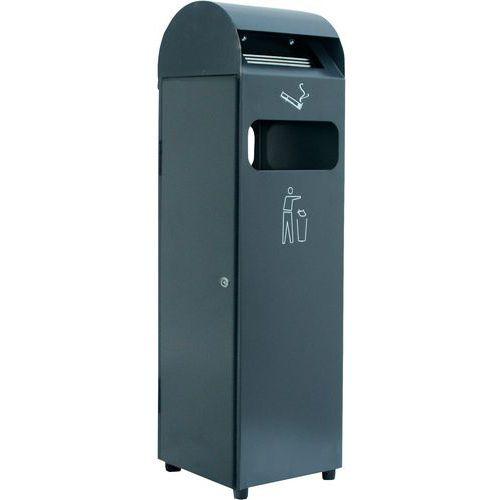 cendrier poubelle sur pied 29 et 48 l manutan manutan fr