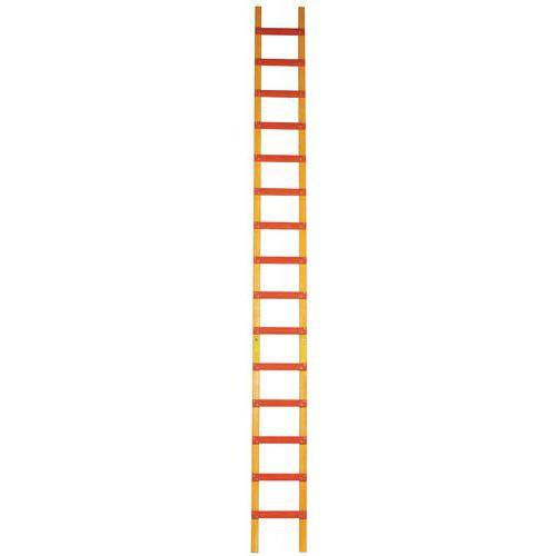 echelle de toit bois 11 a 19 marches ecartement 25 cm