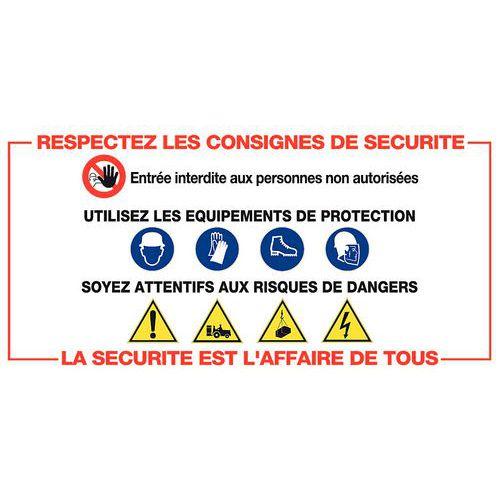 Panneau De Signalisation Rglementaire Consignes De