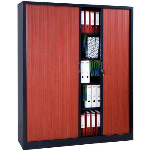 armoire a rideaux extra large en kit largeur 160 cm