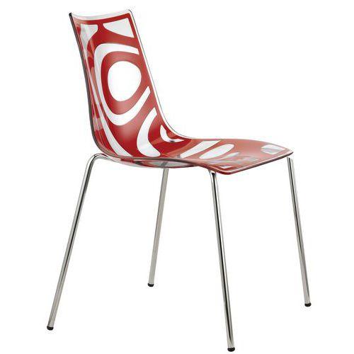chaise 4 pieds wave manutan fr