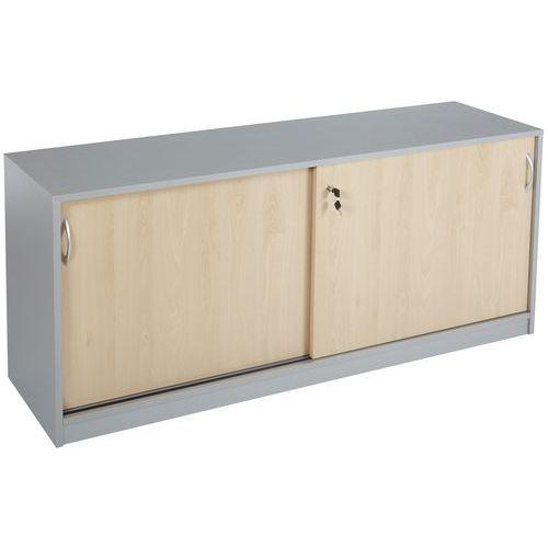 armoire basse portes coulissantes mercure manutan fr
