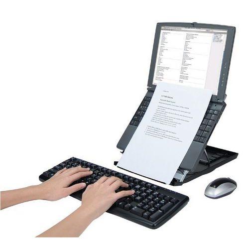 Suporte Para Computador Porttil Desq Com Porta Documentos