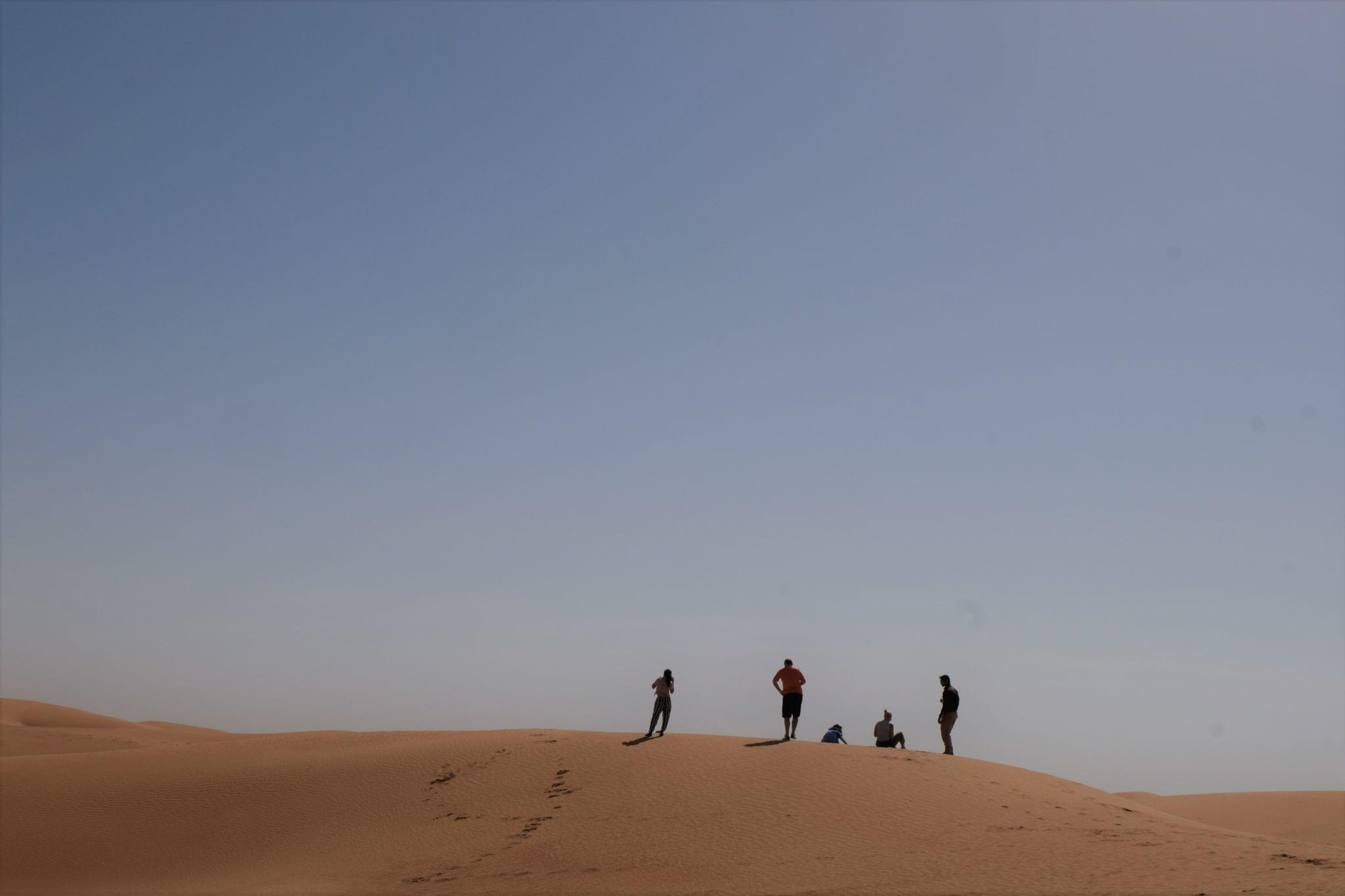 touring the dubai desert