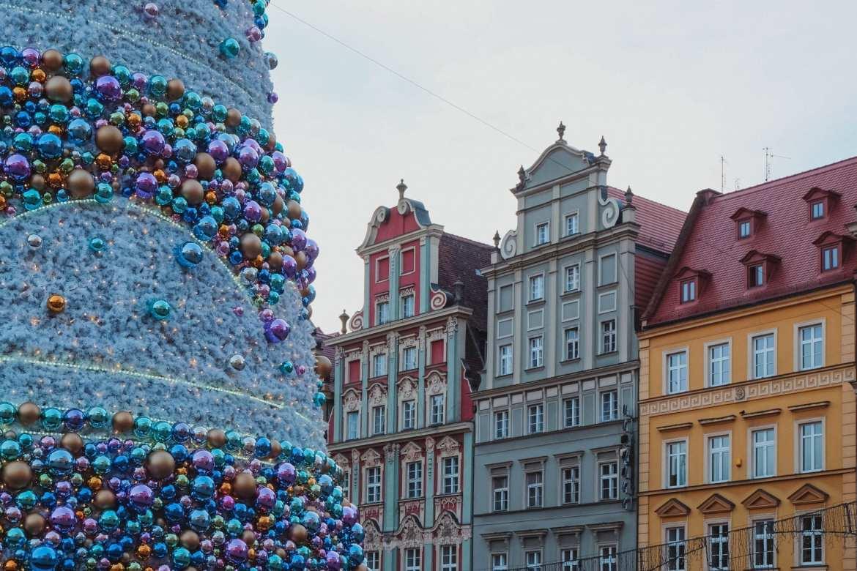 Wroclaw Christmas tree