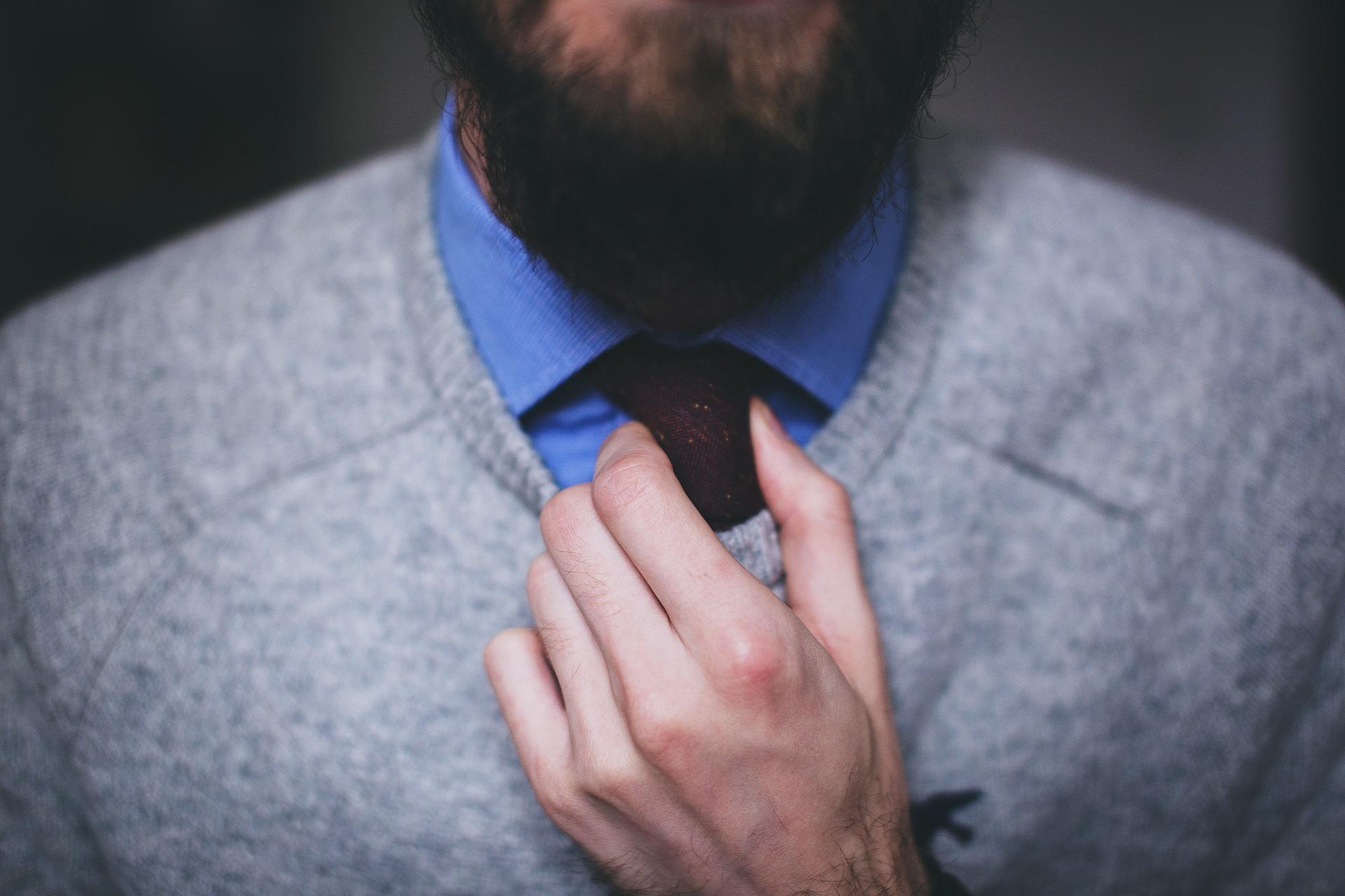 Necktie Beard