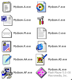 Mydoom Computer Virus