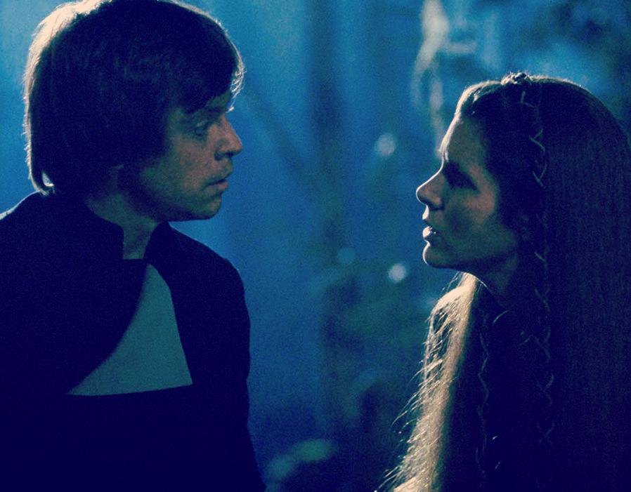 Luke and Leia Star Wars