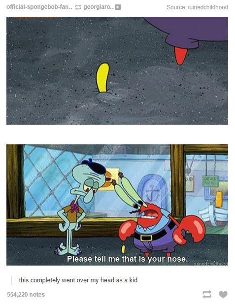 Spongebob Tumblr Post
