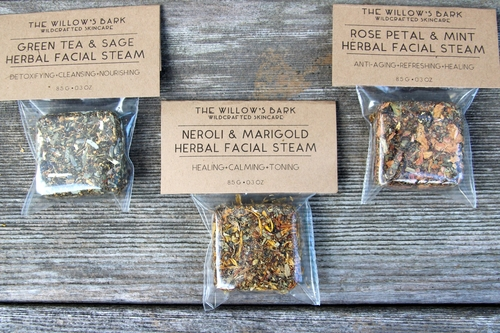 The Willow's Bark Wildcrafted Skincare Herbal Facial Steams