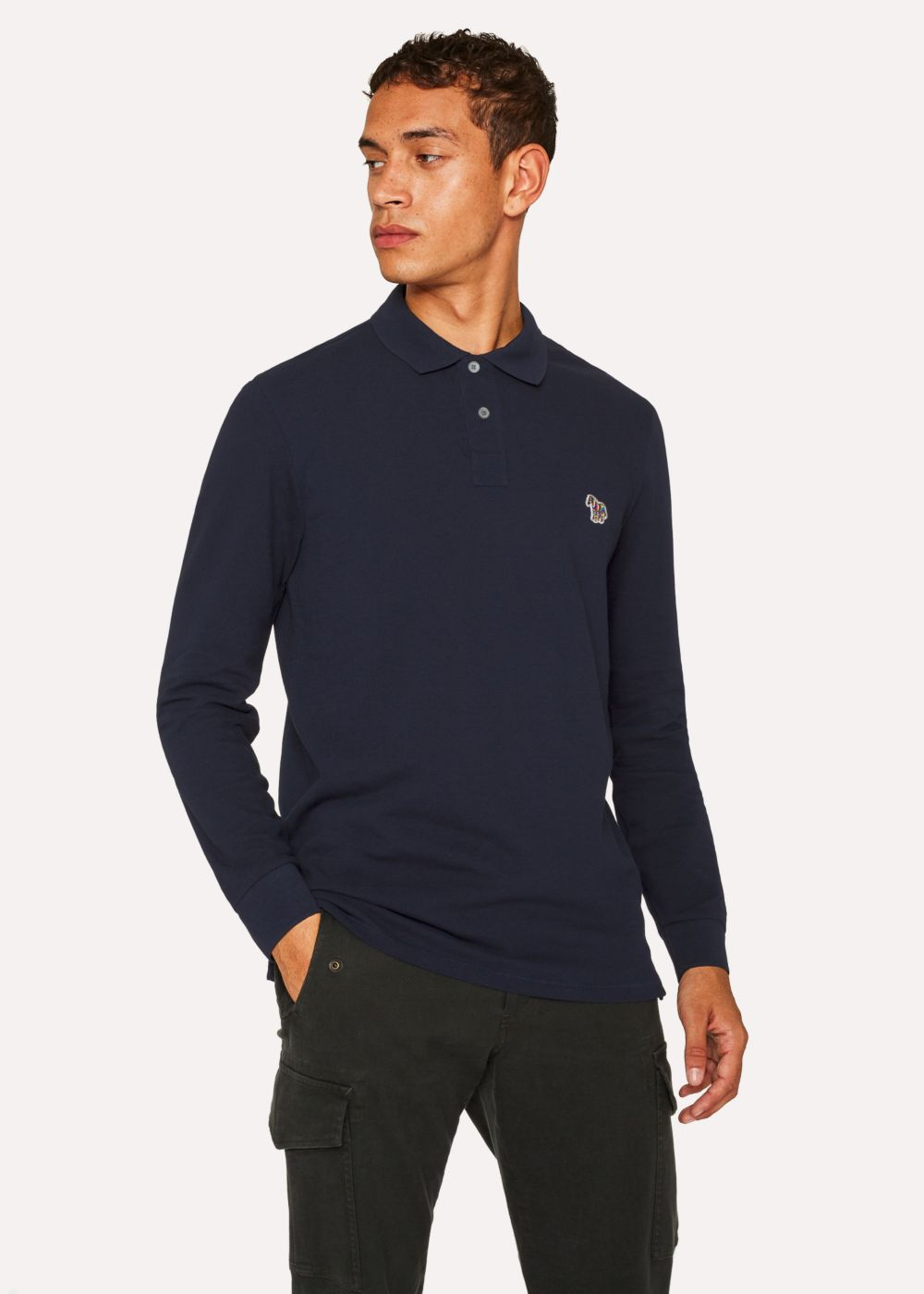 Paul Smith - Navy Long Sleeve