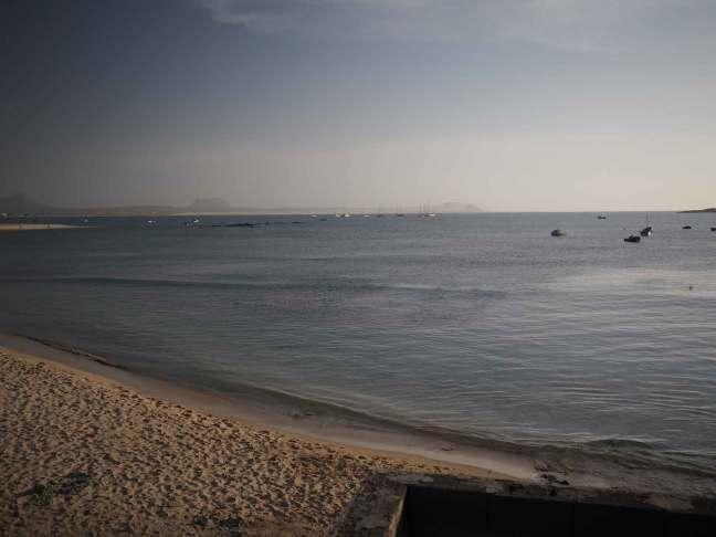 Plage de Sal Rei sur l'île de Boa Vista.