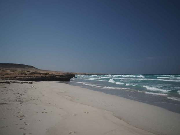 La belle plage de Boa Esperança au nord de Boa Vista.