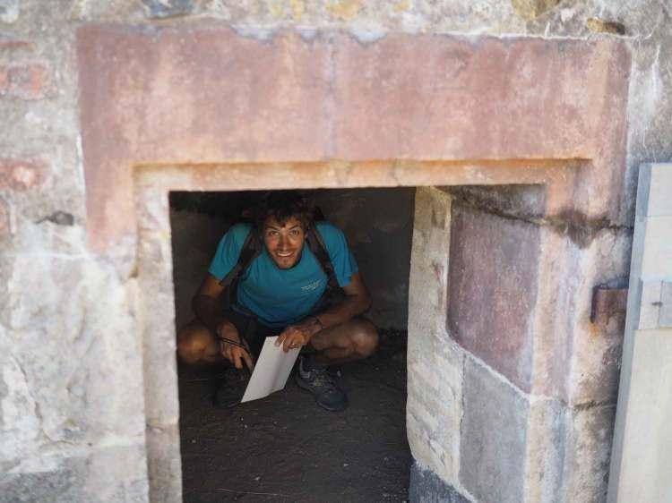 Cachot à esclaves dans le Château Dubuc.